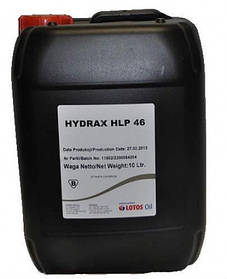 Масло гидравлическое Lotos HLP-46 Hydrax 20л