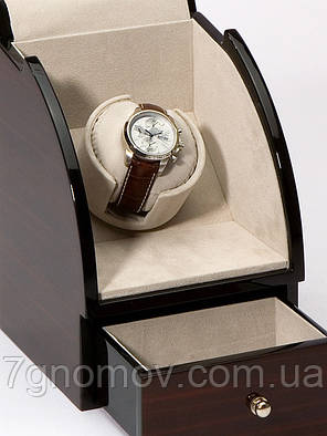 Шкатулка для подзавода часов, тайммувер для 1-х часов Rothenschild RS-321-1-E, фото 2