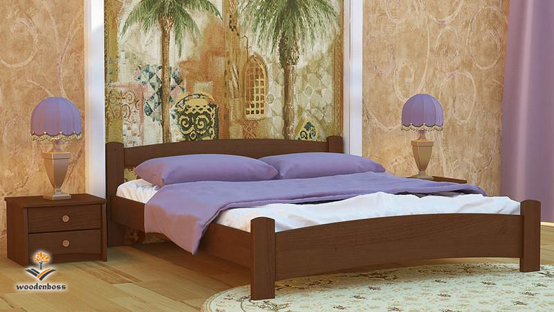 Ліжко з натурального дерева WoodenBoss Мілана