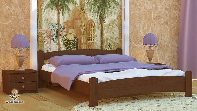 Ліжко з натурального дерева WoodenBoss Мілана, фото 2
