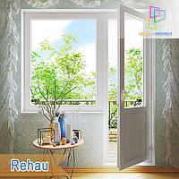 """Балконный блок rehau euro-design 60 /1800x2100/  """"Окна Маркет"""", фото 1"""