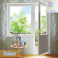 """Балконный блок rehau euro-design 60 /1800x2100/  """"Окна Маркет"""""""