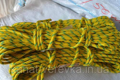 Полипропиленовый шнур 8 мм. (веревка)