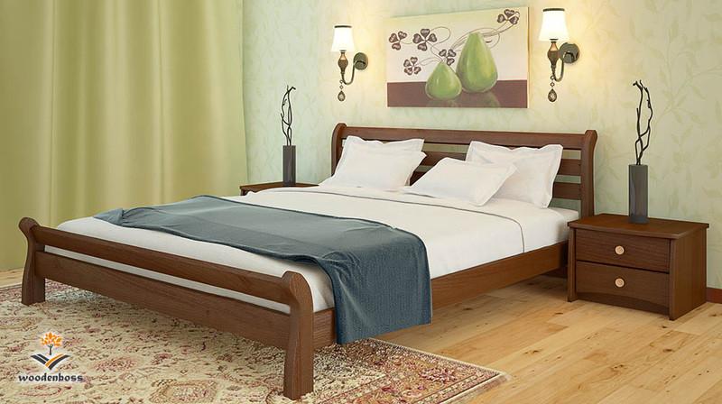 Кровать из натурального дерева WoodenBoss Соната