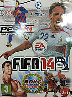 Сборник игр 3 в 1: FIFA 14,PES 14, Boxsport Manager