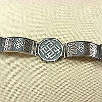 Серебряный браслет-оберег