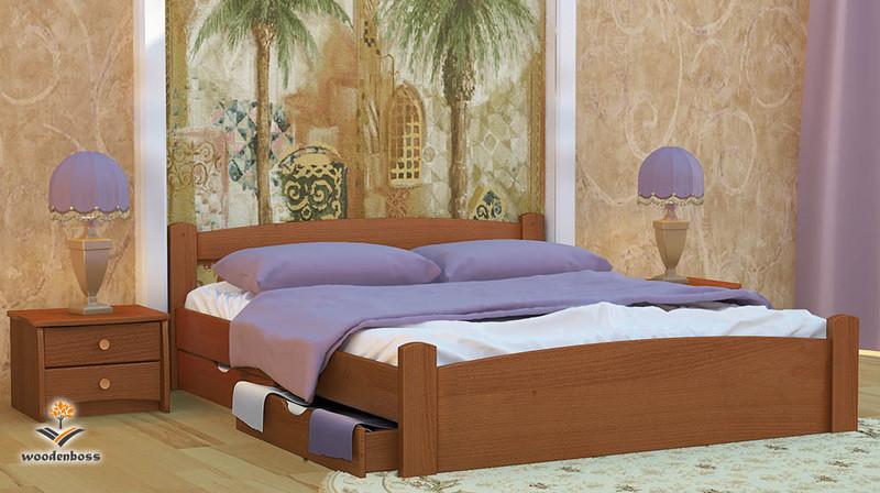 Двоспальне ліжко «Емма»