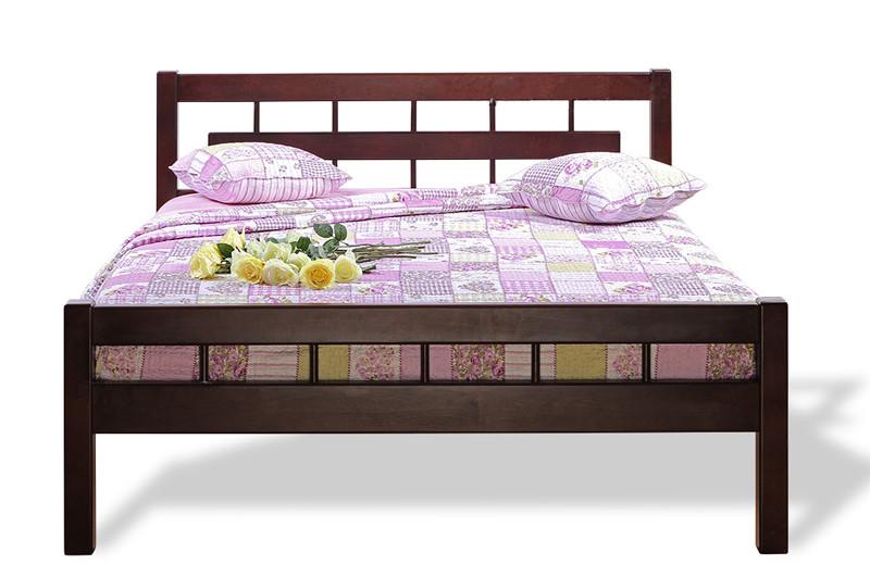 Кровать из натурального дерева (Ольха) Микс Мебель Альмерия