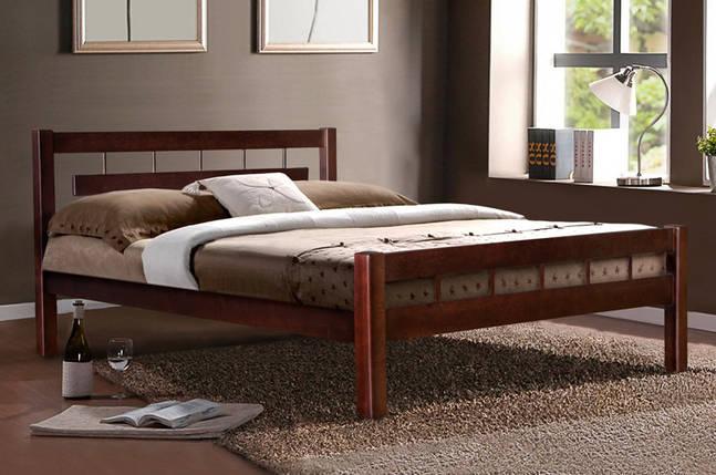 Кровать из натурального дерева (Ольха) Микс Мебель Альмерия, фото 2