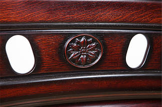 Кровать двухспальная из натурального дерева (Массив дуба) Микс Мебель Флоренция, фото 2