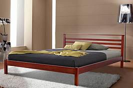 Кровать двухспальная из натурального дерева Микс Мебель Диана (спальное место ШхГ - 1600х2000)