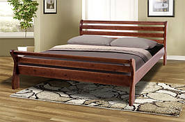Кровать из натурального дерева Микс Мебель Ретро-2