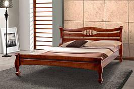 Кровать из натурального дерева Микс Мебель Динара