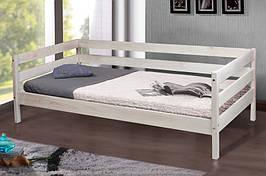 Кровать из натурального дерева Микс Мебель Sky-3 (белений дуб)