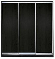Шкаф-купе 3-х дверный Стандарт-1  фасады ДСП/ДСП