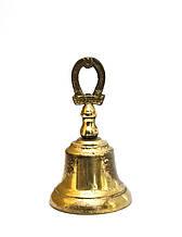 Коллекционный колокольчик, бронза, Англия, 8,5 см
