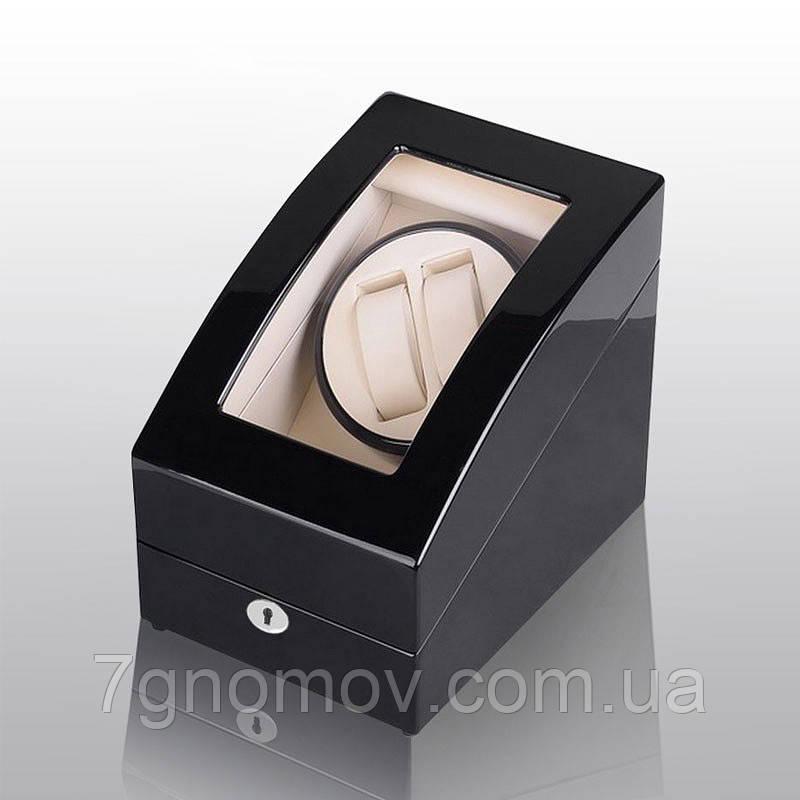 """Шкатулка для подзавода часов, тайммувер для 2-х часов Rothenschild RS-3024-BW - Интернет-магазин """"7 гномов"""" в Киеве"""