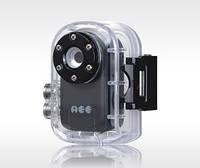 Автономный водонепроницаемый мини видеорегистратор с функцией подводной съёмки 640X480@30 fps, original AEE