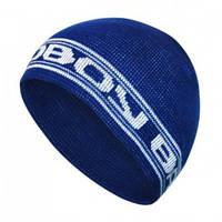 Мужская шапка stripe blue