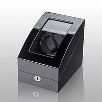 Шкатулка для подзавода часов, тайммувер для 2-х часов Rothenschild RS-3024-BB
