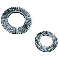 Шайба контактная стальная рифленая оц.
