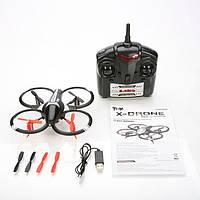 """Квадрокоптер мини с камерой """"X-Drone"""", радиоуправляемый квадрокоптер x drone, квадрокоптер с камерой на пульте"""