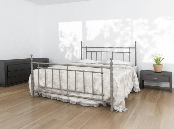 Ліжко односпальне металева Napoli / Неаполь Метал-Дизайн / Metall Design, фото 2