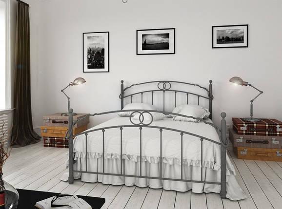 Кровать двухспальная металлическая Toskana / Тоскана Металл-Дизайн / Metall Design, фото 2