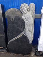 Памятник со скорбящей № 019