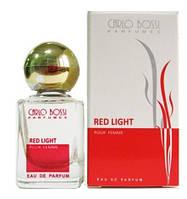 Парфюмерная вода для женщин Red Light мини, 10 мл (Carlo Bossi)