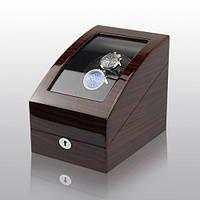 Шкатулка для подзавода часов, тайммувер для 2-х часов Rothenschild RS-3024-EB