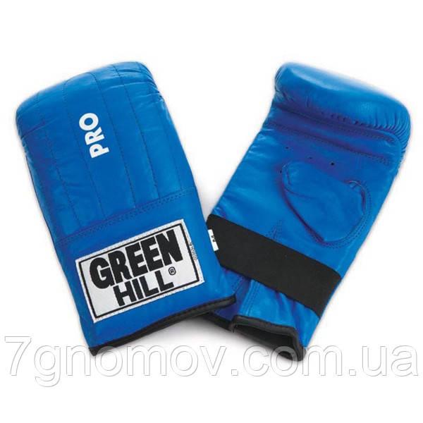 """Перчатки снарядные (блинчики) """"Pro"""" Green Hill M"""