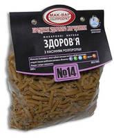 Макароны «Здоровье» №14 из пшеничной муки с семенами расторопши