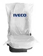 Чехлы накидки 250 шт. на  сидения  полиэтиленовые,  одноразовые  с логотипом  IVECO