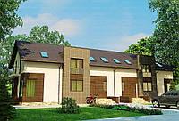 Строительство дома из сип панелей 381,22м.кв. «КЛАСИК»