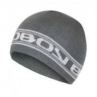 Стильная мужская шапка stripe gray