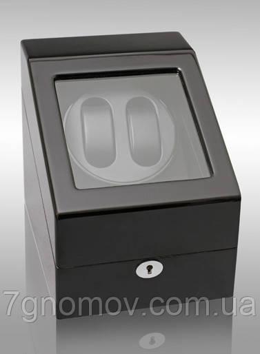 Шкатулка для подзавода часов, тайммувер для 2-х часов Rothenschild RS-024-2-BB