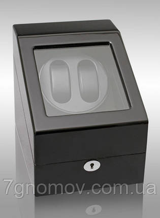 Шкатулка для подзавода часов, тайммувер для 2-х часов Rothenschild RS-024-2-BB, фото 2