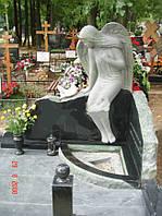 Памятник со скорбящей № 037