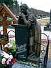 Памятник со скорбящей № 038