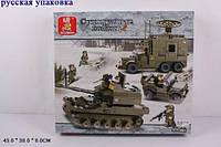 """Конструктор SLUBAN M38-B0308R (6шт) """"Сухопутные войска """" , в разобр.  кор.43*29*6,5 см"""