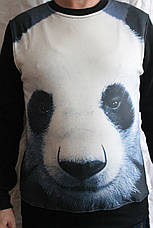 Толстовка свитер с цветным принтом, фото 2