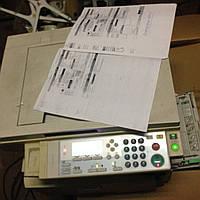 МФУ лазерное Gestetner Aficio MP161 на запчасти, фото 1