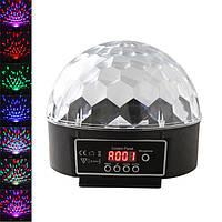 Cветодиодный диско шар Music Ball, фото 1