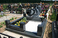 Памятник со скорбящей № 047