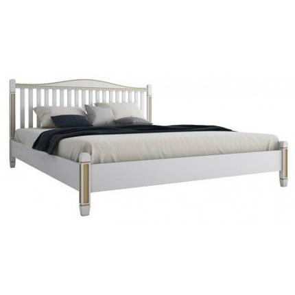 Кровать двухспальная из натурального дерева АУРЕЛЬ Монако ШхГ - 160х200 см, фото 2