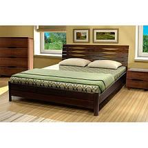 Кровать двухспальная из натурального дерева АУРЕЛЬ Марита ШхГ - 180х200 см, фото 2