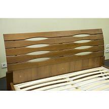 Кровать двухспальная из натурального дерева АУРЕЛЬ Марита ШхГ - 180х200 см, фото 3