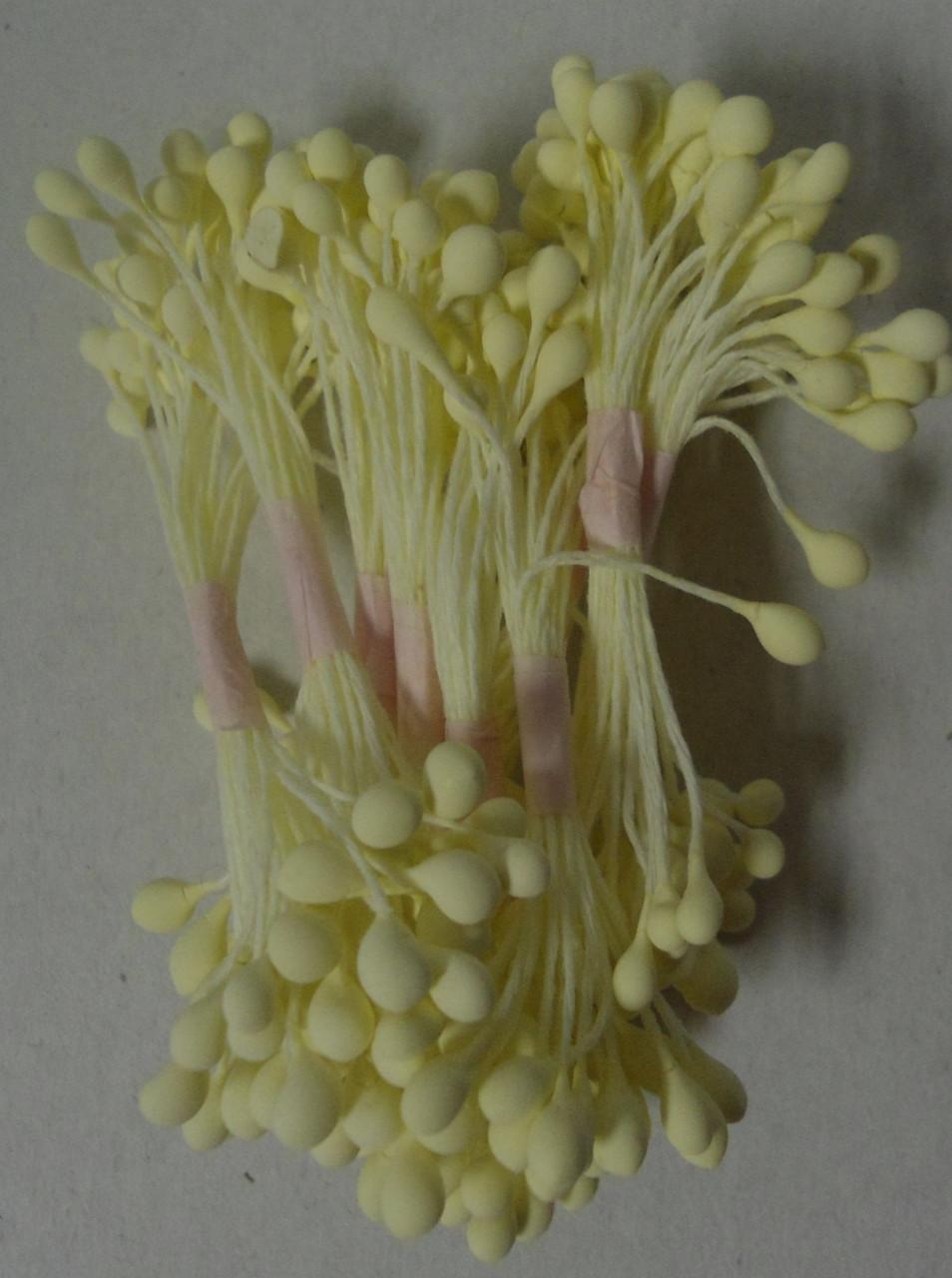 Тычинки бледно-желтые круглые (код 04676)