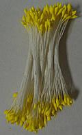 Тычинки желтые кругло-острые(большие)(код 04677)